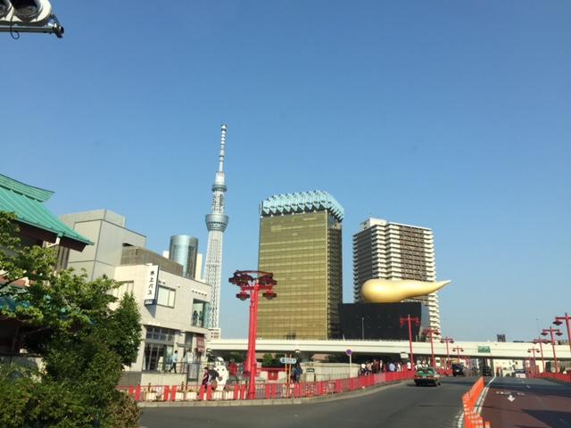 浅草〜スカイツリーを横目に〜恵比寿迄の東京横断ケータリング♪